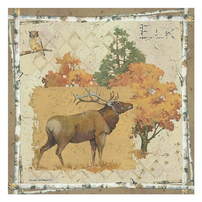 Elk Country Poster by Anita Phillips for $52.50 CAD