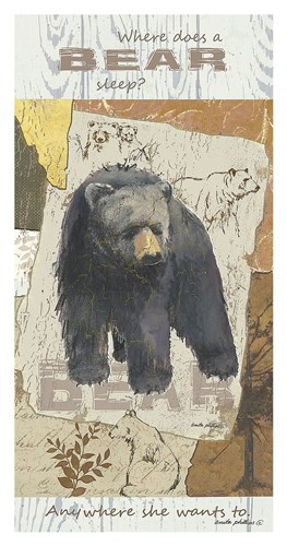 Bear Sleep Poster by Anita Phillips for $65.00 CAD