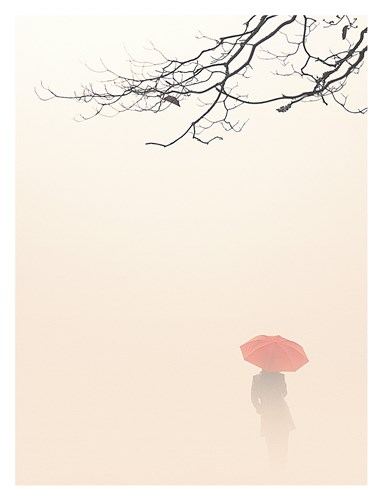 In Autumn Fog Poster by Nicholas Bell for $78.75 CAD
