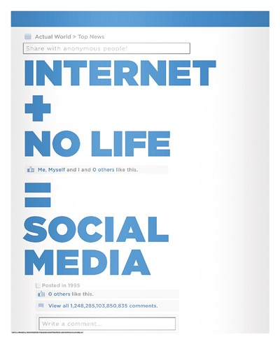 Social Media Poster by J.J. Brando for $72.50 CAD
