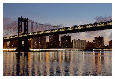 Manhattan Bridge at Dawn Poster by Alan Blaustein for $85.00 CAD