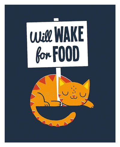 Will Wake for Food Poster by Michael Buxton for $72.50 CAD