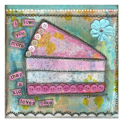 I Love You More Poster by Denise Braun for $58.75 CAD