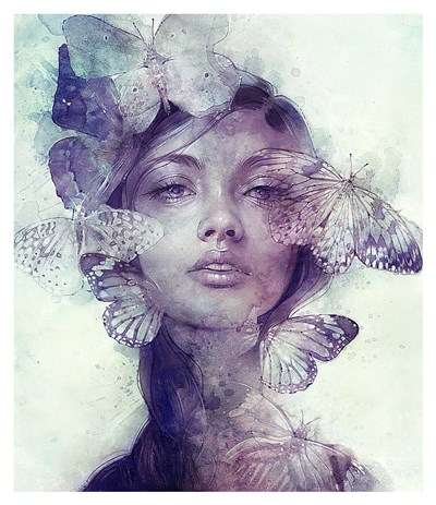 Adorn Poster by Anna Dittman for $105.00 CAD