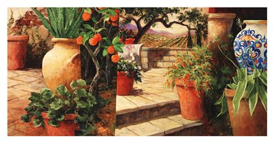 Turo Tuscan Orange Poster by Art Fronckowiak for $65.00 CAD