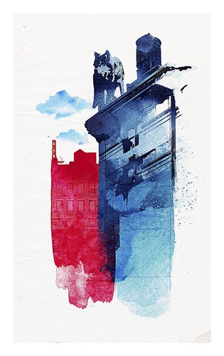 This Is My Town Poster by Robert Farkas for $42.50 CAD