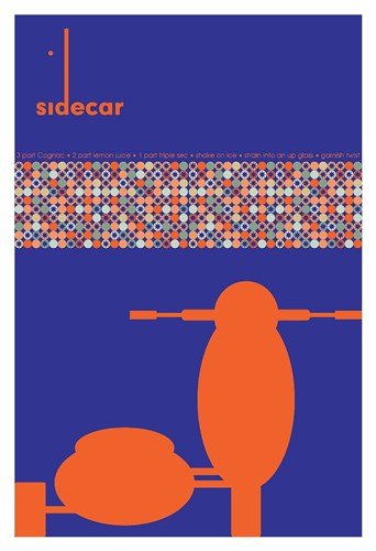 Sidecar Recipe Poster by Fig & Melon Press for $85.00 CAD