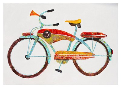 Bike No. 5 Poster by Anthony Grant for $88.75 CAD