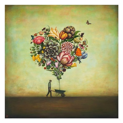 Big Heart Botany Poster by Duy Huynh for $52.50 CAD