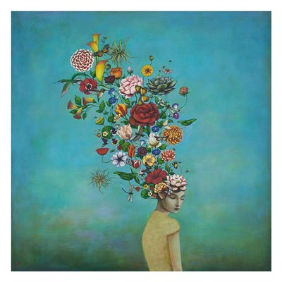 A Mindful Garden Poster by Duy Huynh for $58.75 CAD