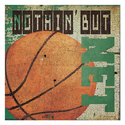 Nothin but net Poster by Jo Moulton for $58.75 CAD
