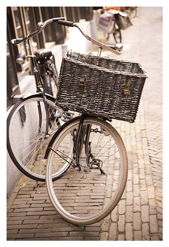 Amsterdam Bicycle Poster by Georgianna Lane for $75.00 CAD