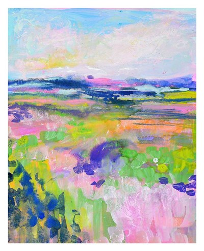 Colourful Land I Poster by TA Marrison for $72.50 CAD