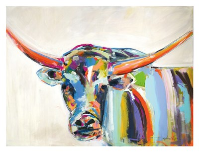 Long Horn Poster by Melissa Lyons for $78.75 CAD