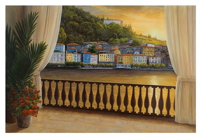 Italian View Poster by Diane Romanello for $85.00 CAD
