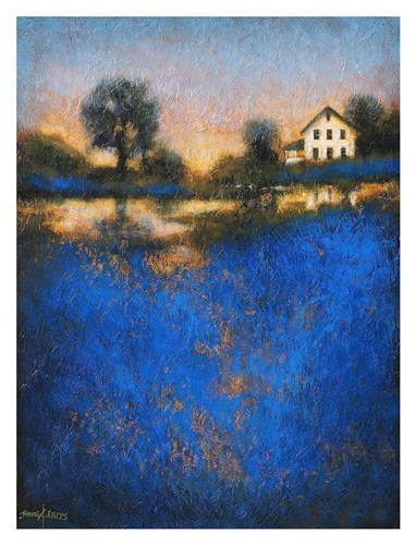 Blue Fields Poster by Thomas Stotts for $78.75 CAD
