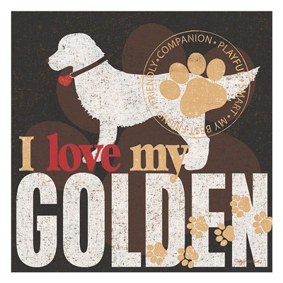 Golden Poster by Kathy Middlebrook for $58.75 CAD