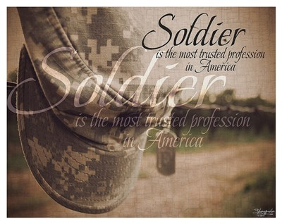 Soldier Poster by Shawnda Eva for $133.75 CAD