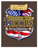Support the Troops Badge