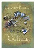 Plan to Golf