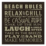 Beach Rules (square)