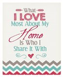 Home (What I Love Quote)