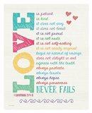 Love Never Fails Color