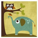 Owl and Elephant