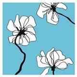 Flowers in Blue 2