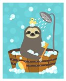 Bathing Sloth