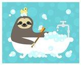 Scrubbing Bubbles Sloth