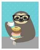 Snacking Sloth