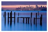 Bay Pilings - Sausalito