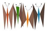 Butterflies - Browns