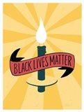 Black Lives Matter - Candle