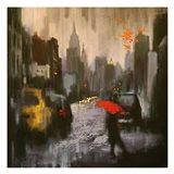 A Rainy Day Walker
