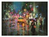 Night Rain in Village
