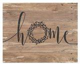 Home Rustic Wreath