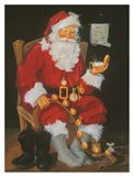 Santa In Chair