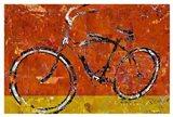 Gold and Orange Bike