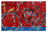 Red Graffiti Bike