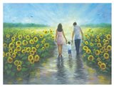 Sunflower Walk with Mom & Dad