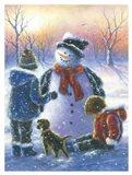 Chubby Snowman Boy & Girls