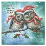 Owl I Want for Christmas is You!