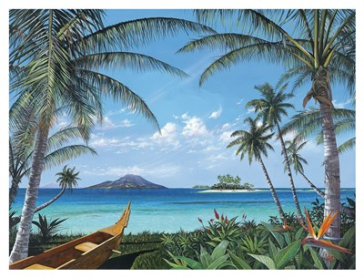 Tropic Travels Poster by Scott Westmoreland for $117.50 CAD