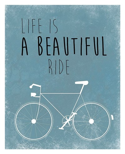 A Beautiful Ride Poster by Jan Weiss for $72.50 CAD