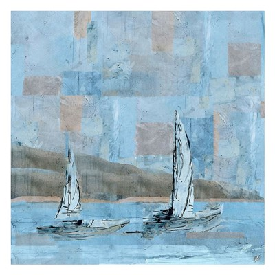 Sailboat No. 2 Poster by Marta Wiley for $58.75 CAD