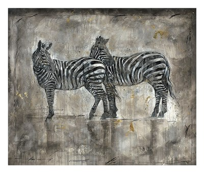 Zebras Poster by Marta Wiley for $52.50 CAD