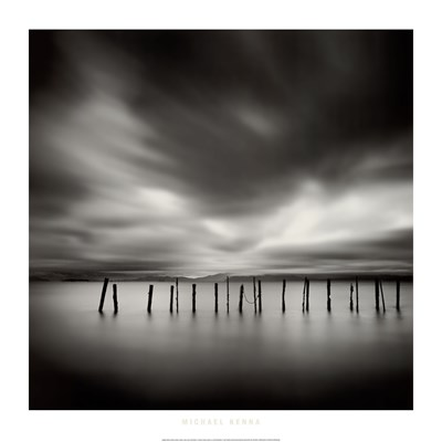 Twenty Sticks, Kohoku, Honshu, Japan, 2003 Poster by Michael Kenna for $41.25 CAD