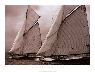 Two Fifes: Tuiga and Moonbeam III Poster by Christian Fevrier for $41.25 CAD